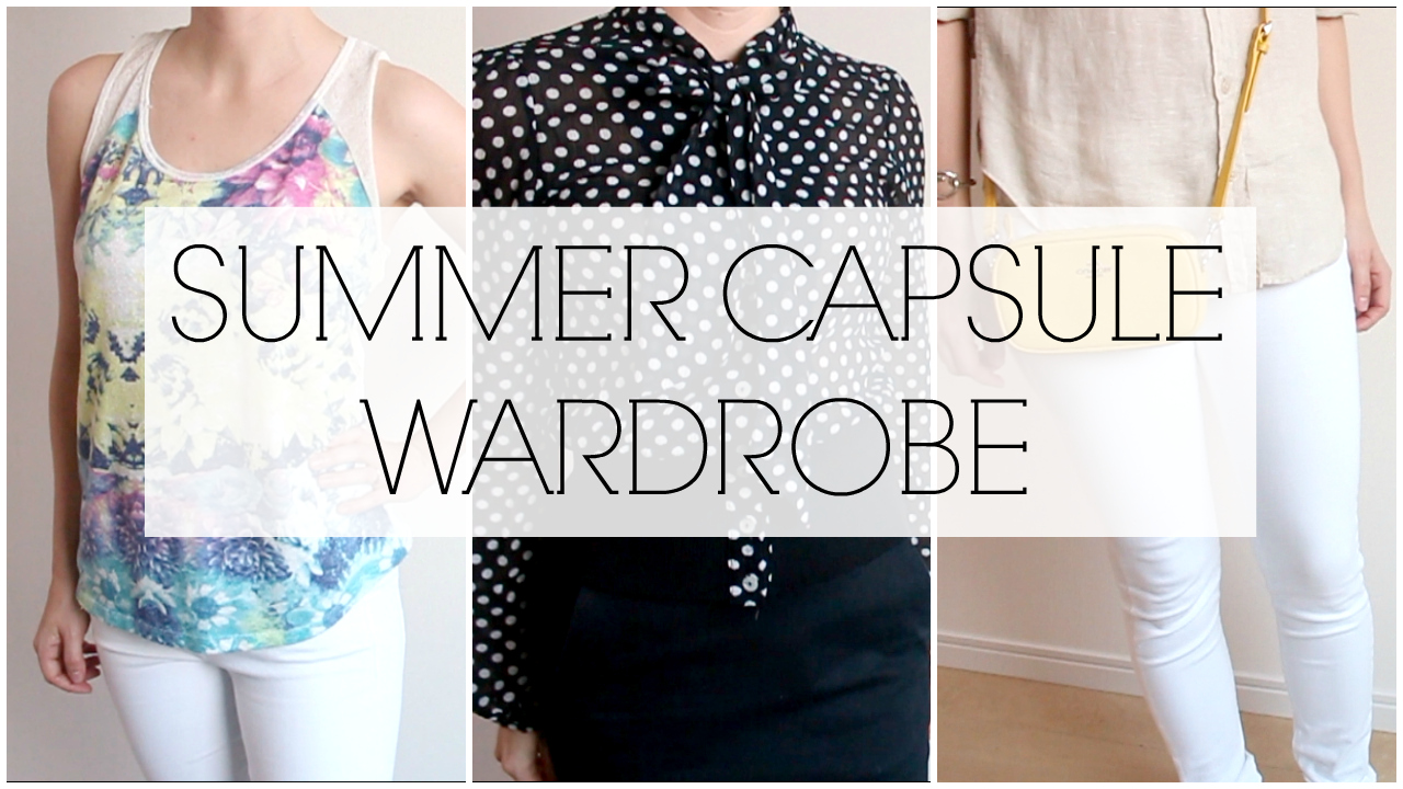 Three capsule wardrobe looks