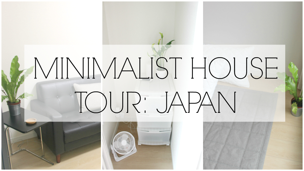 3 pictures from our minimalist house tour video.