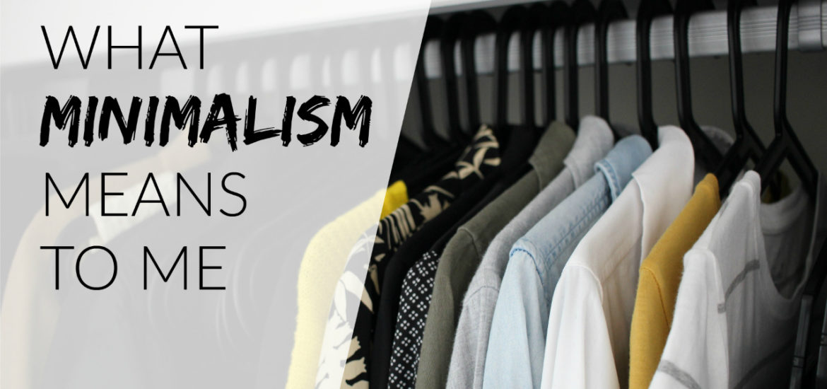 what minimalism means to me definition