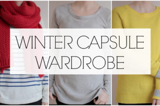 WINTER CAPSULE WARDROBE PROJECT 333