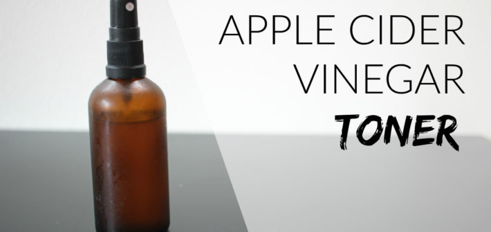 natural toner face recipe apple cider vinegar