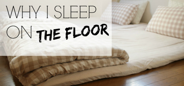 Why I sleep on the floor | Japanese Futons